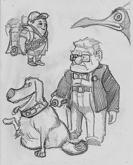Up (Pixar film) par rampopo